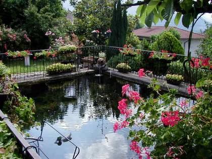 Le jardin de la source g te jardin france rhone alpes is re grenoble jardin activit s - Bassin jardin japonais grenoble ...
