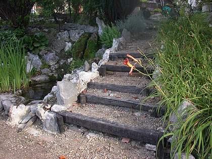 Un escalier dans le jardin page 3 for Escalier dans un jardin