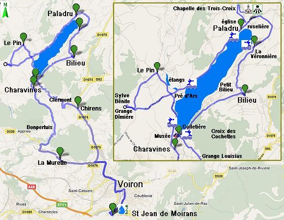 Rando Auto Le Tour Du Lac Charavines Paladru